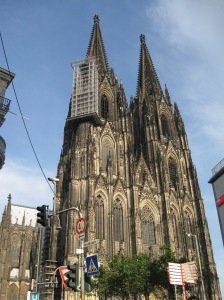The Cologne Cathedral-- one of Germany's many, many churches