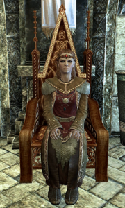 Female Jarl Elisif