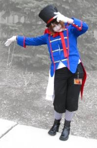 Me as Drossel Keinz from Kuroshitsuji, Detour 2012.