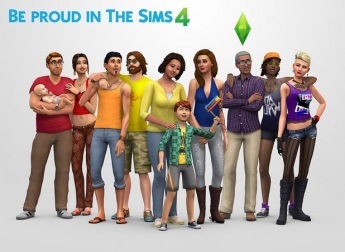 The Sims 4 team have actually included LGBT relationships in their promotional materials this time around.