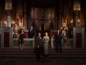 The Hannibal cast in a promo shot for Season 3.