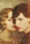Film poster of The Danish Girl featuring Alicia Vikander and Eddie Redmayne