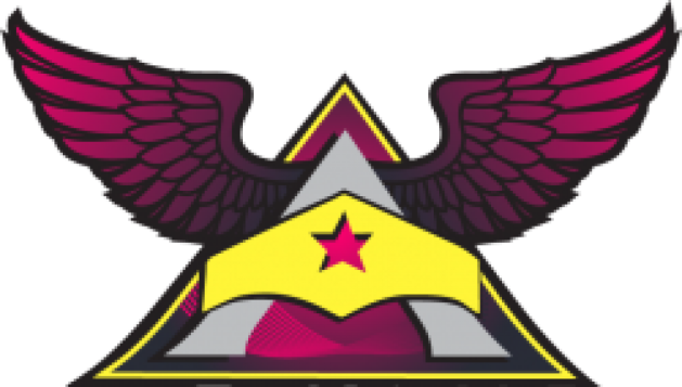 Her Story Arc Logo with winged A and Wonder Woman tiara