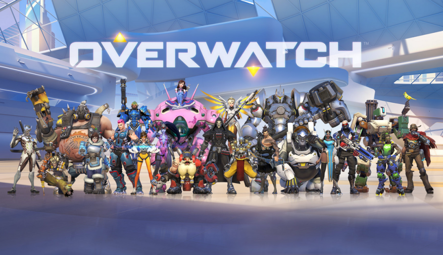 The cast of Overwatch heroes, as they appeared during the recent open beta.
