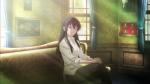 Image of Sakurako, main character in the anime Beautiful Bones