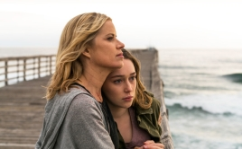 Kim Dickens as Madison Clark, Alycia Debnam-Carey as Alicia Clark - Fear the Walking Dead _ Season 2, Episode 13 - Photo Credit: Richard Foreman Jr/AMC