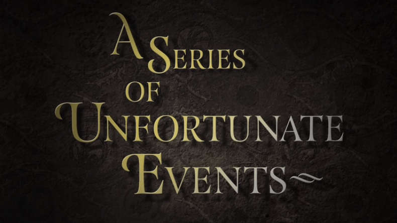 A Series of Unfortunate Events title card